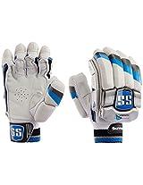 SS Tournament Men's RH Batting Gloves (Black/White)