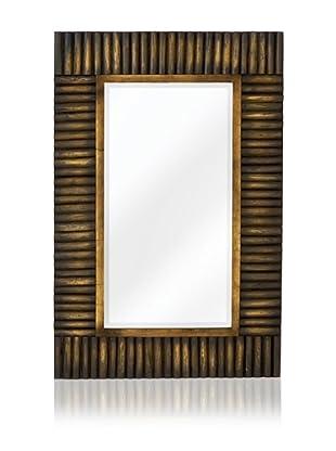 Leland Mirror (Dark Natural Wood)