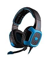 Sades Sa 906 Pc Gaming Headset W/ Microphone + Volume Control Red/Black