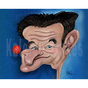 Kaleidostrokes Caricature - Robin Williams