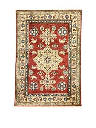 Eden Teppich Uzebekistan rot/elfenbein 96 x 142 cm