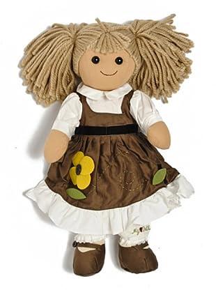 My Doll Muñeca Editta 42 cm marrón
