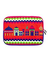 Chumbak  CLAP019-11 11-inch Mahal Laptop Sleeve (Multicolor)