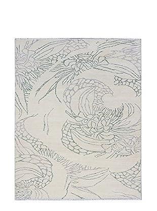 eCarpet Gallery Finest Ushak Rug, Cream, 8' x 10'