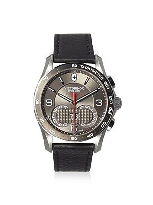 Victorinox Men's 241616 Chrono Classic Black Stainless Steel Watch