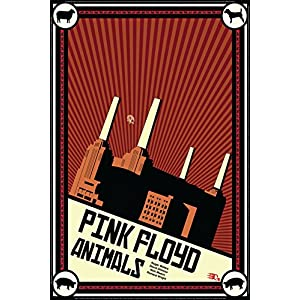 Color Crab - Pink Floyd Animals' Tile Wall Art