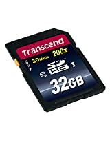 Transcend TS32GSDHC10 32GB Class 10 Memory Card