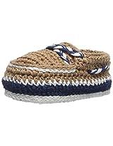 Jefferies Socks Baby Boys' Hand Crochet Deck Shoe Bootie