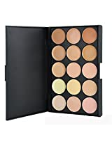 RoseFlower® Pro 15 Colors Cream Concealer Makeup Palette Cosemetic Contouring Kit #2 - Ideal for Professional and Daily Use