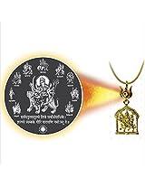 Dijyo Divine Darshan Durga-ji Navroop Pendant For Unisex(SGP74NDG)