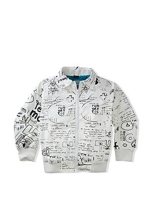 Desigual Boy's Ursa Mayor Jacket (White)
