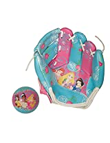 Franklin Sports Disney Princess 9-Inch Air Tech Glove and Ball Set