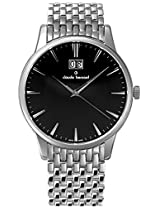 Claude Bernard Analogue Black Dial Men's Watch - 63003 3M NIN