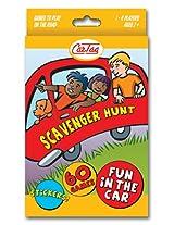 Scavenger Hunt Travel Edition - Car Tag Scavenger Hunt Game