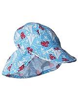 Flap Happy Baby Boys' Boys' UPF 50+ Swim Flap Hats, Somersault Sails, Small