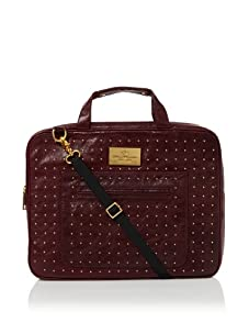Rebecca Minkoff Women's New Virginia Laptop Bag (Raspberry)