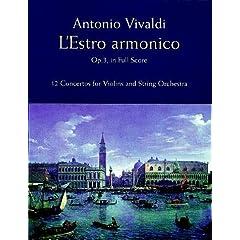 【クリックでお店のこの商品のページへ】Vivaldi: L'Estro Armonico, Op. 3, in Full Score: 12 Concertos for Violins and String Orchestra: Antonio Vivaldi, Music Scores: 洋書