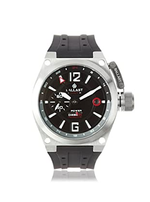 Ballast Men's BL-3119-01 Valiant Black Stainless Steel Watch