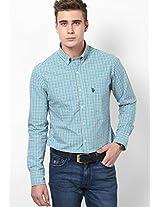 Aqua Blue Casual Shirt U.S. Polo Assn.