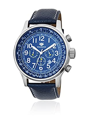 Wellington Chronograph  blau 47  mm