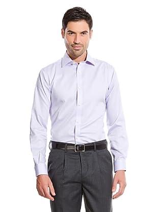 Cortefiel Camisa Cuadro (Violeta)