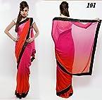 Samantha Prabhu Indian Bollywood Designer Party Wear Ethnic Women Saree, Sari - Pink, Red