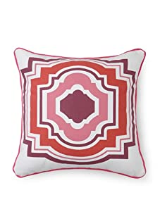 Room Service Tangier Pillow (Pink/White)
