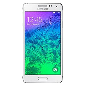 Samsung Galaxy Alpha (Dazzling White)