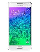 Samsung Galaxy Alpha SM-G850Y (Dazzling White)