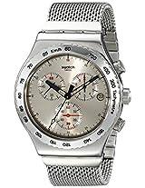 Swatch Irony Analog Silver Dial Men's Watch - YVS405G
