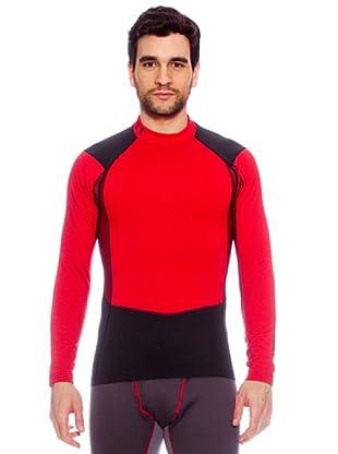 Under Armour Camiseta Coldgear Thermo (Rojo)