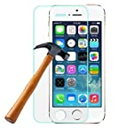 Real Tempered Glass Screen guard Protector For Apple iphone 4 4S