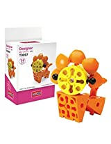 Science Unlimted Block Transformers Design Orange Lion