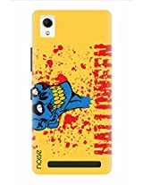 Noise Month Of Halloween Printed Cover for Intex Aqua Power Plus