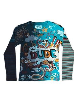 Custo Camiseta Liva Dude (Azul)