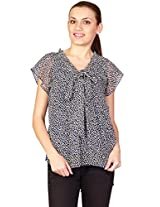 UPTOWNGALERIA Women's Printed Casual Top