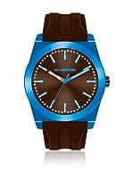 K&BROS Reloj 9560 (Azul Marrón)