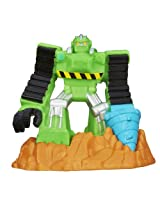 Transformers Playskool Heroes Rescue Bots Beam Box Boulder The Construction-Bot Game Pack