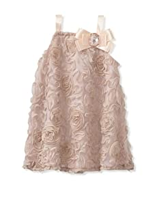 C'est Chouette Couture Girl's Bloomis Sleeveless Dress (Nude)