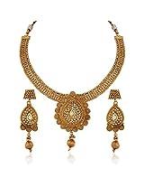 Gracious Gold plated kundan set
