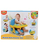 Winfun Musical Baby Booster Seat, Multi Color