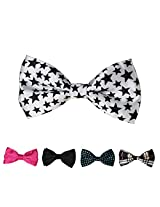 DBFF0009 Multi-colored Satin Creative Pre-Tied Boys Bow Ties Set - 5 Colors Available By Dan Smith