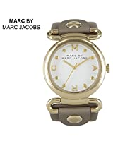 Marc by Marc Jacobs Molly Grey Leather Ladies Watch