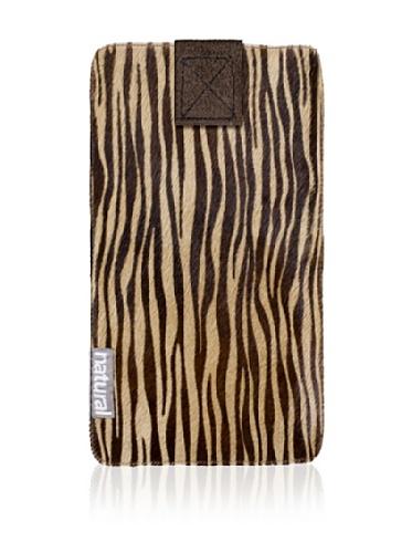 Natural iPhone Cowhide Case (Zebrina)
