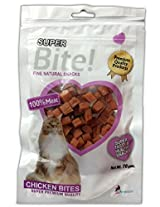 Super Bite Chicken Bites for Cats 70 gm (Pack of 4)