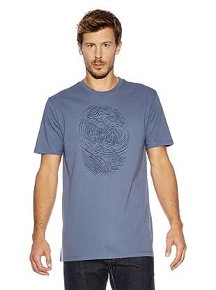 Cross Jeans T-Shirt (Mittelblau)