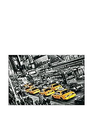 ARTOPWEB Wandbild Michael Feldmann Cabs Queue 115x175 cm