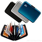 Credit Card & Cash Holder Secure Wallet Money Holder For Men Women Ladies (Set Of 2) By Chevron