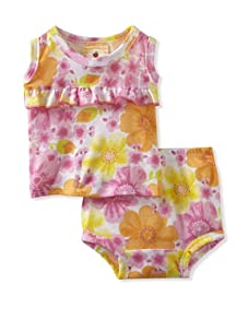 Country Baby Girl Ruffle Tank And Bloomer Set (Country Flowers)