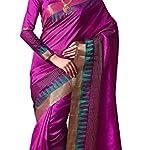 Women's Kanjivaram Tassar Silk Saree